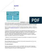 Qualidade & Gestão 2012 Paronização