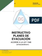 Instructivos Planes de Evacuacion