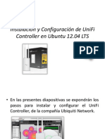Instalacion de Access Point Unifi