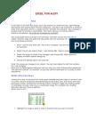 Excel for Audit