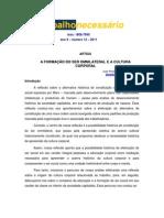 José Pereira de Souza Sobrinho - A Formação do Ser Omnilateral e a Cultura Corporal