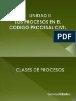 b.1 Los Procesos en Cpc