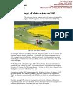 High Target of Vietnam Tourism 2013