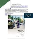 Anuario 2013,Semana Del 20 de Mayo