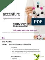 Guest Lecture - SCM Implementation - Apr 2013