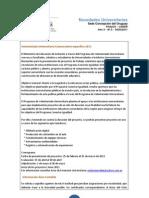 Novedades Universitarias A3N1 04-03-2011