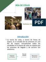 (TEORÍA DE COLAS Presentación
