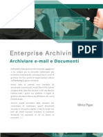 ENTERPRISE ARCHIVING - archiviare email e documenti