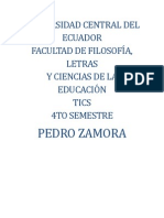 DEBER WORD...SLIDESHARE Y SCRIBD - PEDRO ZAMORA - 4to semestre Idiomas Inglés