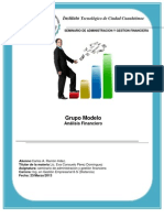 Analisis Financiero Grupo Modelo
