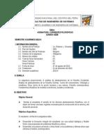 Silabus CORRIENTES FilosofiCaS 2012-II (1)