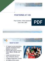PostgreSQL at Hi5