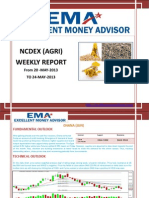 Ncdex Weakly Report 18 May