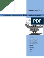 laboratorio 8 acidos carboxilicos