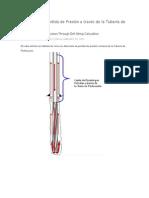 Cálculo de la Pérdida de Presión a través de la Tubería de Perforación