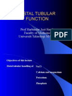 4. Tubular Function (Distal Tubule)
