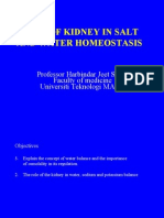 7. Role of Kidney in Salt and Water Homeostasis