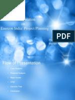 Presentation Enercon Case