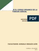 1 Modulo Sobre El Codigo Organico de La Fj-uda