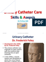 Urinary Catheter Care Skills & Asepsis