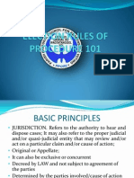 Perspectives of Election Rules of Procedure