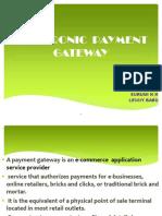 Electronic Payment Gateway