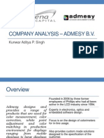 Admesy LLC -CompanyProfile
