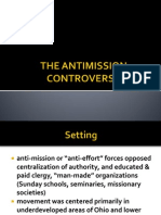 The Antimission Controversy