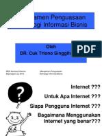Pemanfaatan Internet Dalam Bisnis