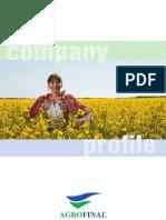 Agrofinal company Profile
