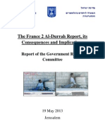 The France 2 Al-Durrah Report Its Consequences and Implications