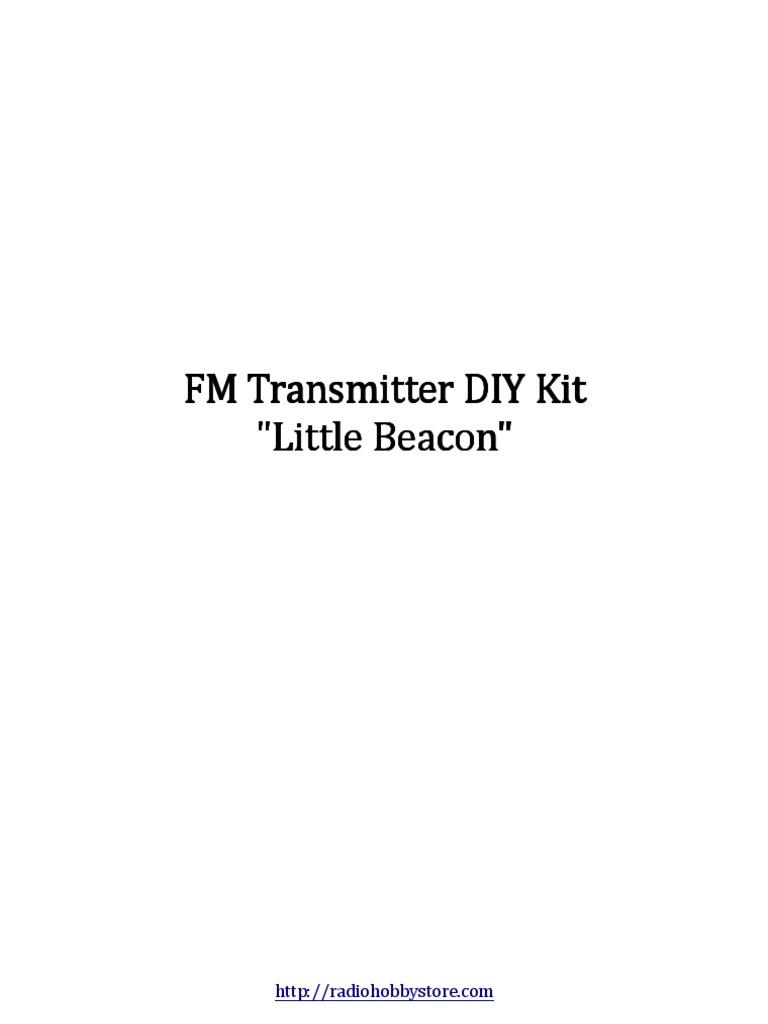 Fm Transmitter Module Diy Telecommunications Engineering Radio Three Stage 9v