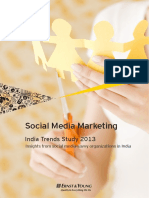 Ernst & Young - Social Media Marketing in India Trends Report