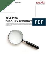 90079003 Aexio Xeus Pro 2012 Quick Guide
