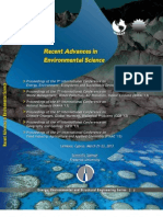 Recent Advances in Environmental Science