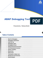 ABAP Debugging Techniques.ppt