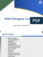ABAP Debugging Techniques.ppt