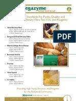 Megazyme Cereal Flyer 2012