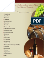 Megazyme New Wine Flyer and Product List