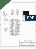 PIC16F877A-SRF05-LCD16x2