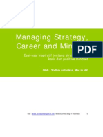 eBook Managing Strategy Career and Mindset