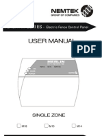 1 Zone Keypad User Manual