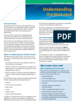 General Information on Blue Cards