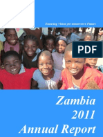 Lions Aid Norway Zambia - 2011 Annual Report