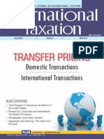 Taxmann May 2013 Transfer Pricing Documentation