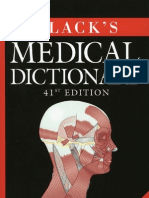 Blacks Medical Dictionary Cu Semne