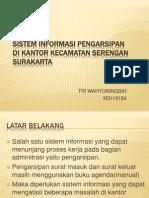 Sistem Informasi Pengarsipan