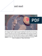 Decoratiuni brad de craciun - nuci (punct in cruce)