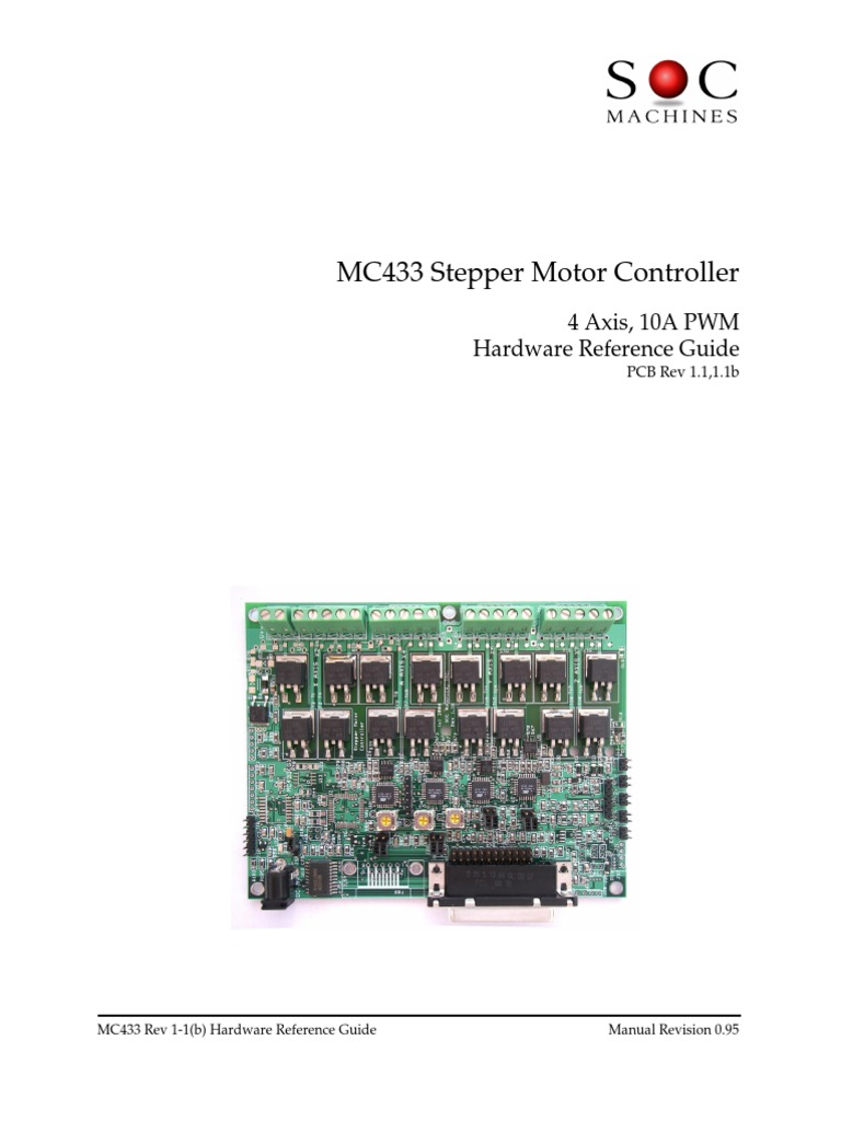 Mc433 Stepper Motor Driver Computer Hardware Digital Electronics Motors Using This Circuit In Full Step Mode Through The Rs232