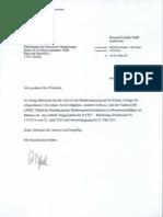 Antwort der Bundesregierung - Mögliche Beteiligung des Bundesnachrichtendienstes an Bombenanschlaegen im Rahmen der Stay-Behind--Organisation der NATO (23.4.2013)